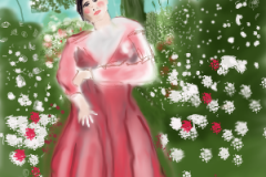 Woman in Meadow, prints only