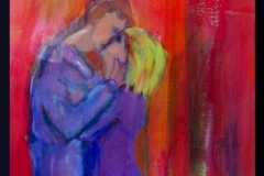 "Pareja: Enamorado con Amor (Couple: In Love With Love) 35 cm x 29.7, 13"" x 11.7"