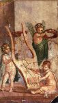 Herculaneum- Lyre and Cupids