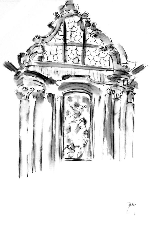 Basilika Mariatrost baroque arches