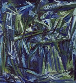 Gontcharova: Foret Blu Vert