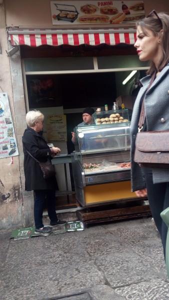 Peg buys sausage