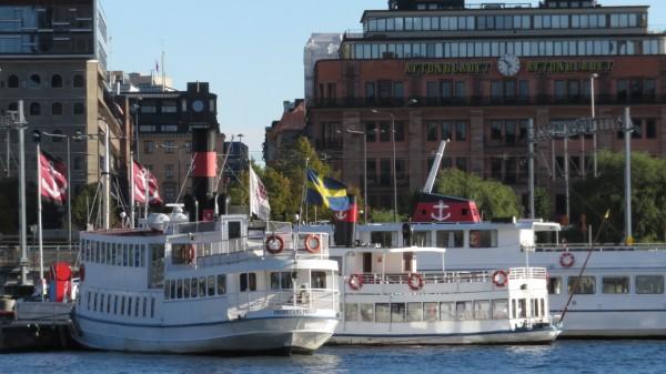 Stockholm harbor area