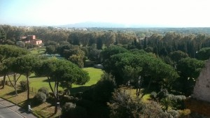 View of Appia Antica are from St Stephens Gate