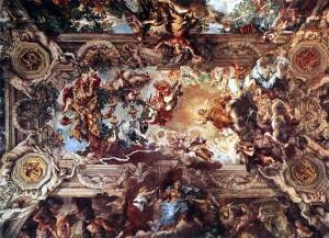 Pietro da Cortona Triumph of Divine Providence.