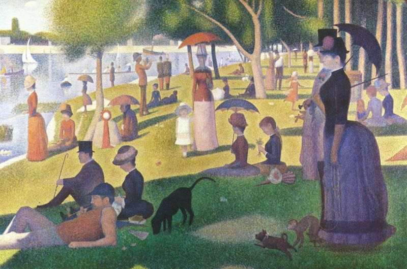 Sunday Afternoon on the Island of La Grande Jatte, Seurat