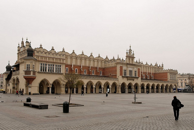 Cloth Hall in the main square
