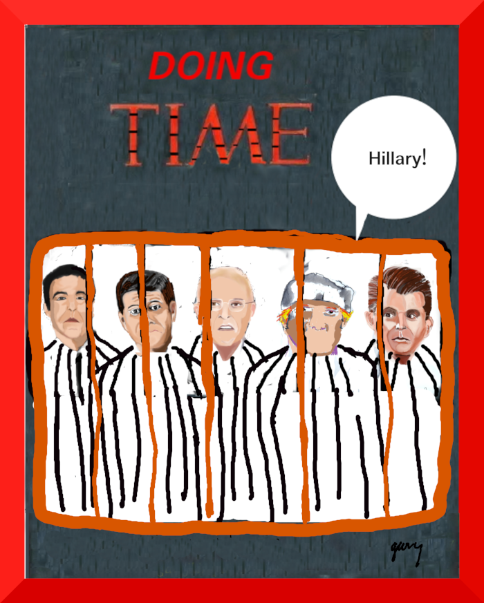 Dopng Time: The Jail is Filling Up!