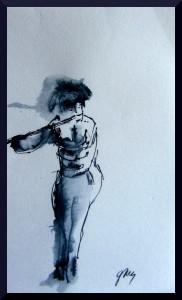 Flautist Palau de la Musica