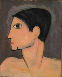 Pablo Picasso by Laurencin