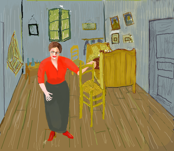 Peg Visits Vincent's Room in Arles