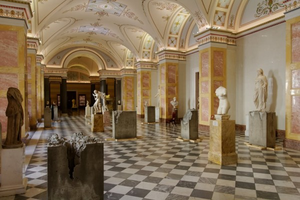 Sculptures in the Winter Palace