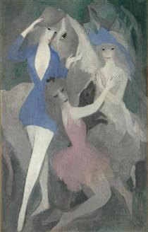 Spanish Dancers, Laurencin