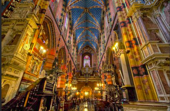 St Mary CathedraL, Krakow