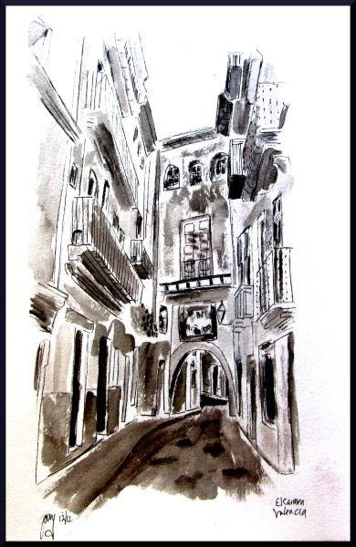 street arch valencia redo