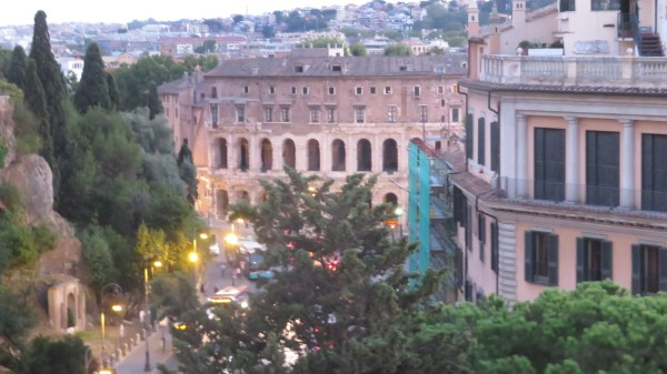 Teatro Marcello from Vittorio Emanuele
