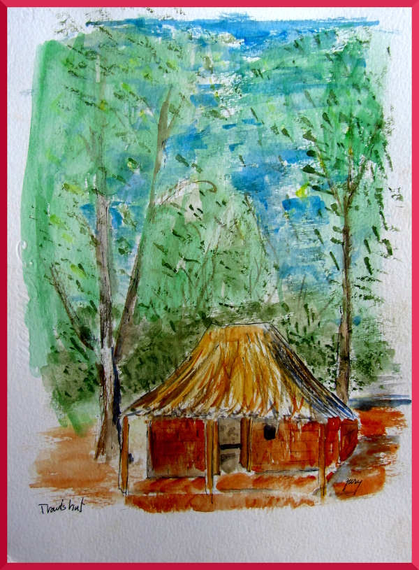 Travis' Hut in Zambia (sold)