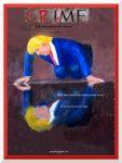 """Did Caravaggio predict Trump, print 12"""" x 16"""" approx, 30 x 40 cm"""