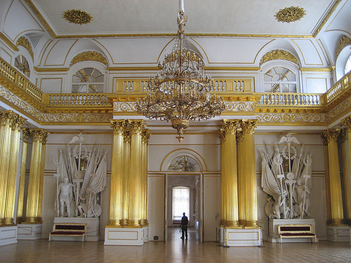 White and gold room, Hermitage